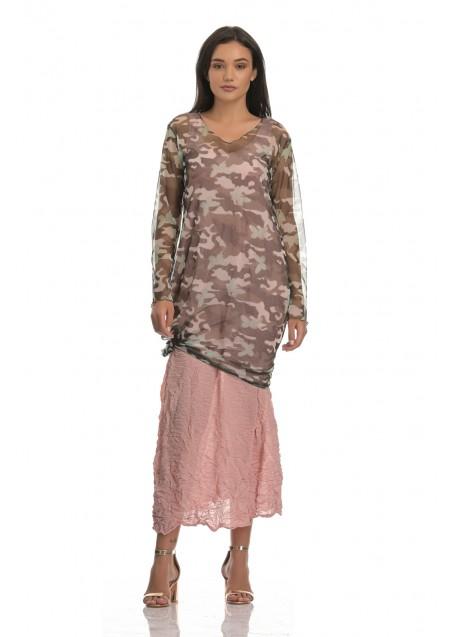 Τούλινο φόρεμα παραλλαγής